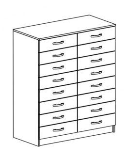 Шкаф картотечный ШКД-4.1