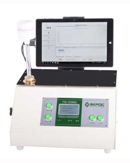 Анализатор ПЭ-7200А температуры помутнения, застывания и кристаллизации (до -70С)