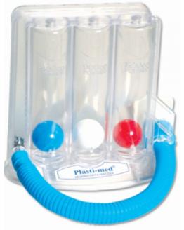 Тренажер для дыхательных упражнений (спирометр)