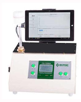 Анализатор ПЭ-7200А температуры помутнения, застывания и кристаллизации