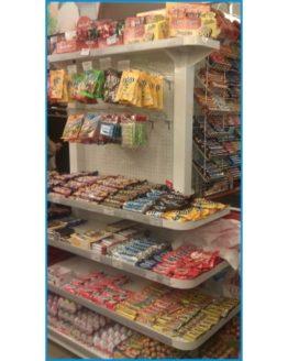 Стойка прикассовая для супермаркета