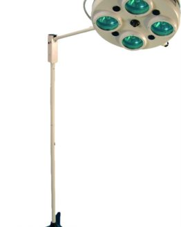ALFA-734 светильник операционный на колесах 4-рефлекторный