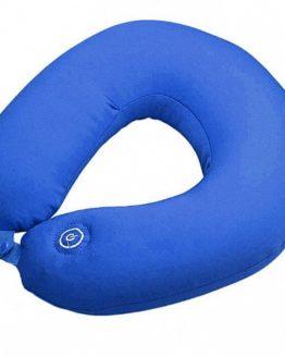 Подушка-подголовник FitStudio Neck Massage Cushion синяя