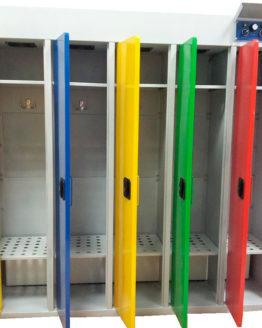 Шкаф сушильный РШС 5д-135 для одежды в детский сад, деликатная сушка |