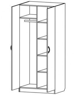 Шкаф для одежды ШСО-1