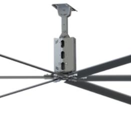 Промышленный потолочный вентилятор Wa-Co HVLS GF3800