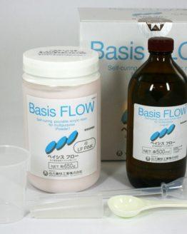 Basis FLOW универсальная текучая акриловая пластмасса холодной полимеризации, 30 мин.