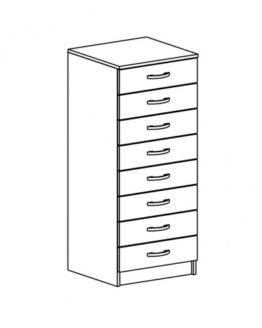 Шкаф картотечный ШКД-3.1